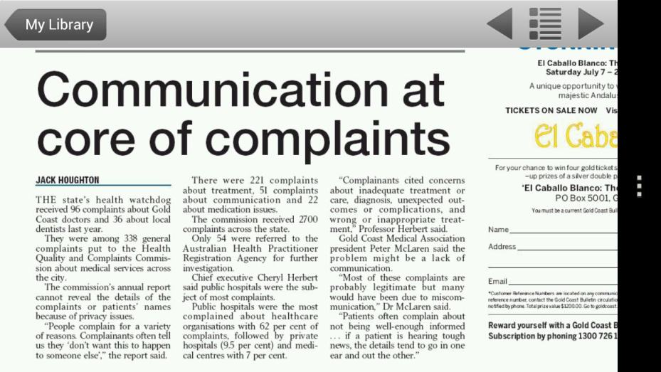 Investigation into Hospital Complaints