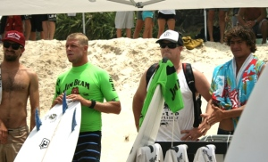 Mick Fanning - Leading last year's Kirra team